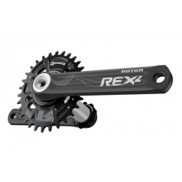 Rotor Set Pedivella Rex 2.1 BCD76*4 Black