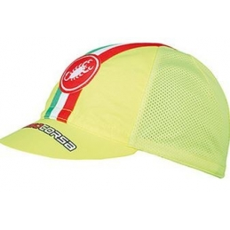 Castelli Cappellino Performace Cycling Cap Giallo