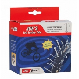 "Joe's no Flat Camera con Sigillante 27.5"" x 2.0 - 2.50 Presta"