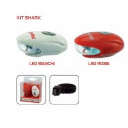 RMS Led Kit Fanali Shark Red/White 546020040