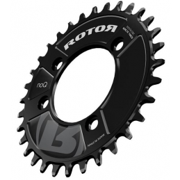 Rotor NO Q-Ring RX1 BCD 76 32D Nero