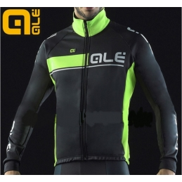 Alè Giubbino Trade Plus Urano Black/Yellow Fluo L00746015