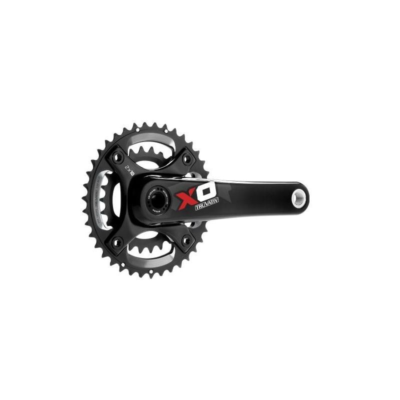 Sram Guarnitura X0 36-22 GXP Red 00.6115.422.190