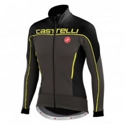 Castelli Giacca Mortirolo 3 Anthracite/Black/Yellow 14506_932