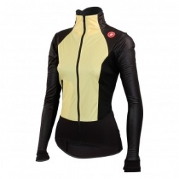 Castelli Giacca Cromo Light W Straw Yellow/Black 14555_030