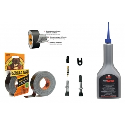 Kit Autoriparanti Barbieri Kit Trasformazione Tubeless TUB/KIT08