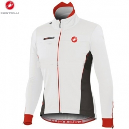 Castelli Giacca Espresso Due Jacket Ws White/Red 11501_109
