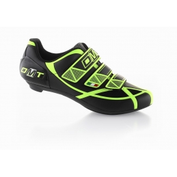 Scarpe Dmt Scarpe Road Aries Black/Yellow Fluo ARBY12