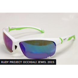RPJ Occhiali Jewel Shiny White/Lime Fluo Laser Green SJ404169