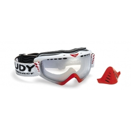 Rudy Project Occhiali Klonyx Snow Sferik Frozen Crystal/Red Fluo MK128284