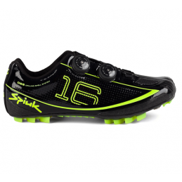Spiuk Scarpe Mtb Z16MC Carbon Black/Yellow Fluo Z16MC02