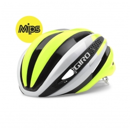 Giro Helmets Synthe Mips White/Yellow Fluo GR101