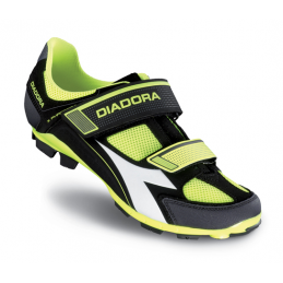 Diadora Scarpe X-Phantom II Black/Yellow Fluo DD120
