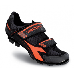 Diadora Scarpe X-Phantom II Black/Red Fluo DD121