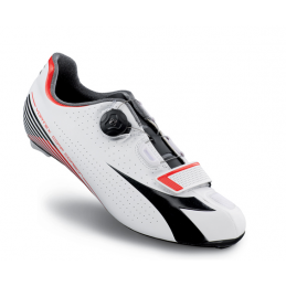 Diadora Scarpe Vortex Comp Carbon White/Black/Red DD102