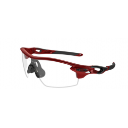 Oakley Occhiali Radarlock Team Red/Black Clear Pitch OO9181-09