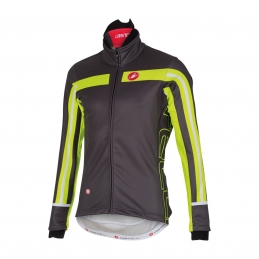 Castelli Giacca Free 3 Black/Yellow Fluo 15522_009