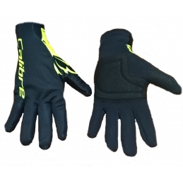 Calibre Guanti Invernali Windtex Black/Yellow Fluo