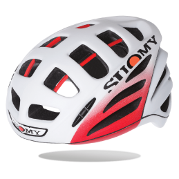 Suomy Casco Gun Wind Elegance White/Red Matt C1GW0004