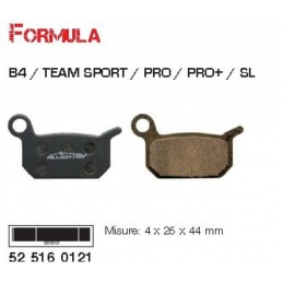 Alligator Pastiglie Freno Formula B4/Team Sport/Pro
