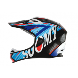 Suomy Casco Jumper Carbon Flash Blue  C1JP0004