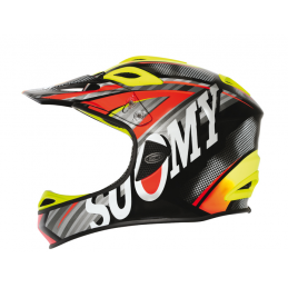 Suomy Casco Jumper Carbon Flash Orange  C1JP0005