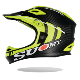 Suomy Casco Jumper Carbon Yellow Fluo 2016