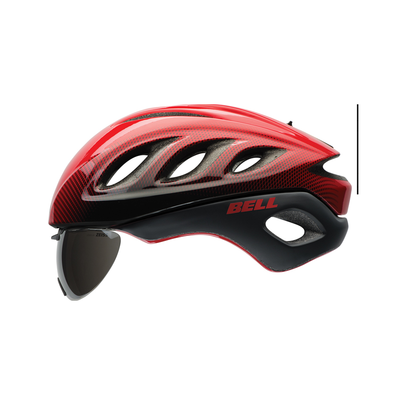 Caschi Bell Helmets Star Pro Shield Red/Black Blur BS.088