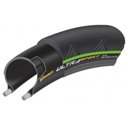 "Continental Coperture Ultra Sport II 23"" Black/Green 0150130"