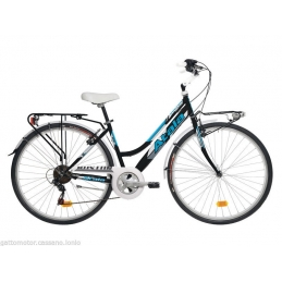 "Atala City Donna Boston 28"" 6V Ultra/Nero"