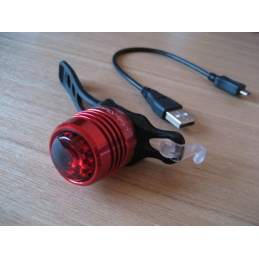 Barbieri Luce Posteriore USB Ruby RC100 LIG/RED100