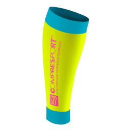 Compressport Gambaletto R2 Fluo Yellow R2-FL1100