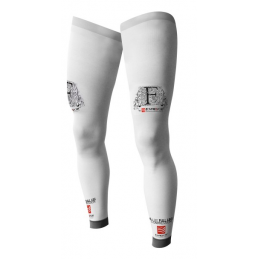 Compressport Gambale F-Like Bianco FL00