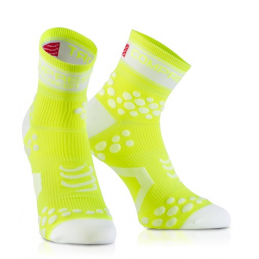Compressport Calze Estive Pro Racing V2 Giallo Fluo RSHV21100