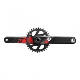 Sram Guarnitura X01 Eagle Gxp Red 175mm