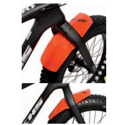 Roto Kit Parafango Ant. + Post. Fat Bike Disp. Vari Colori