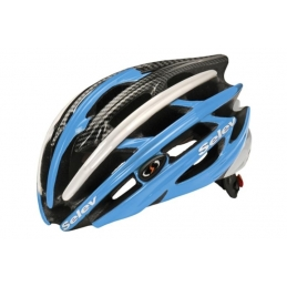 Selev Helmet Xp Light Blue Carbon White XP22