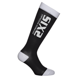 Sixs Calze A Compressione Recovery Nero/Bianco RECOVERY SOCKS