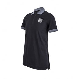 Santini Sms Polo T-Shirt  A2w Training Nera