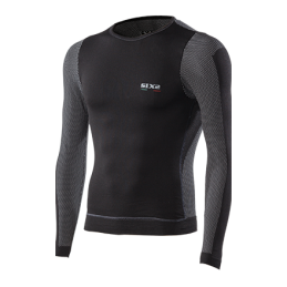 Sixs Intimo Girocollo M/L Antivento Black Carbon