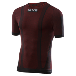 Sixs T-Shirt Maniche Corta Dark Red TS1