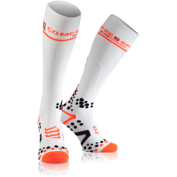 Compressport Calze Full Socks v2.1 White FSV211-00T
