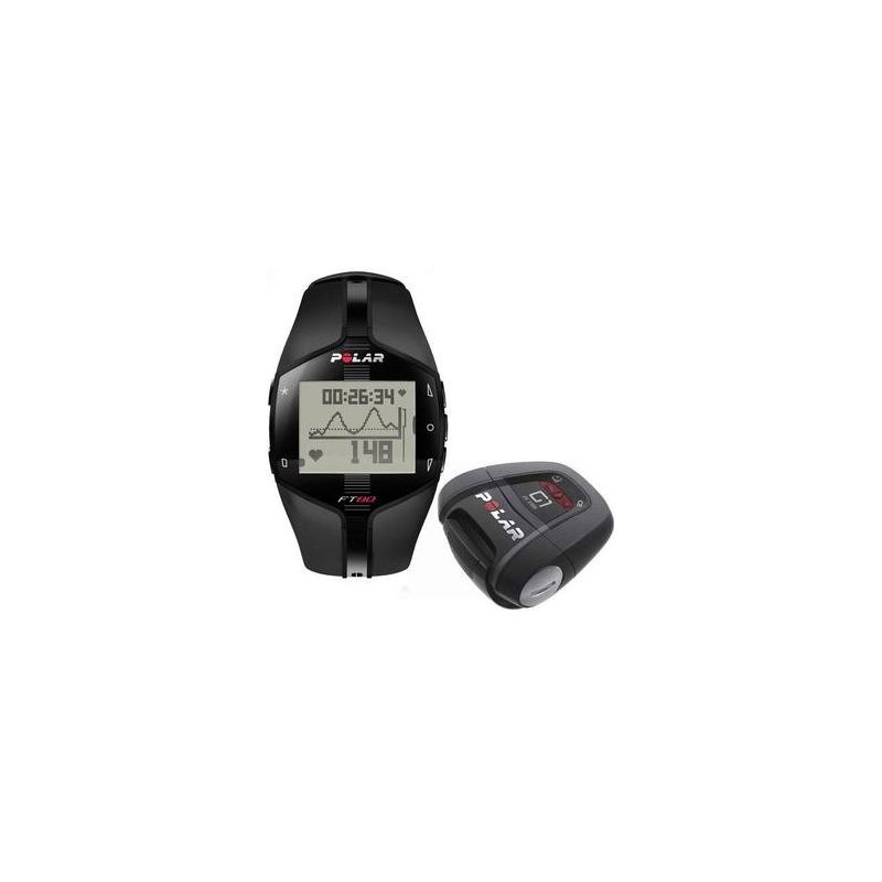 Polar Cardio Ft 80 Gps Black 90040139