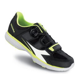 Diadora Scarpe Spinning GYM Black/Yellow Fluo/White DD096
