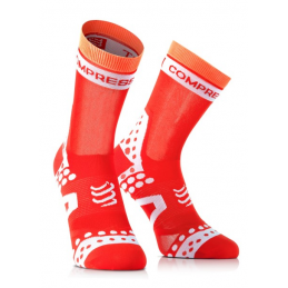 Compressport Calze Estive Pro Racing Ultralight Red BSHUL1023150
