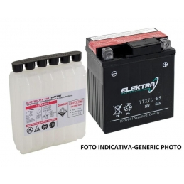 Elektra Batteria Moto YTX14-BS + Kit Acido