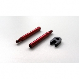 Anima Kit Estensione Valvola 40Mm Alloy Anodizzata Rossa
