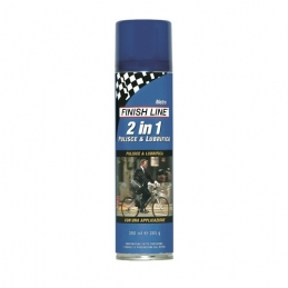 Finish Line 2 In 1 Pulente E Lubrificante Spray 500 Ml FIN113