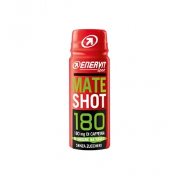 Enervit Integratori Mate Shot 180 mg di Caffeina 60ml