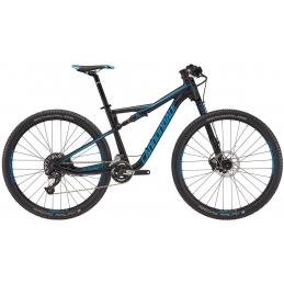 Cannondale Mtb Scalpel-Si 5 Jet Black/Ultra Blue Matte C24516M